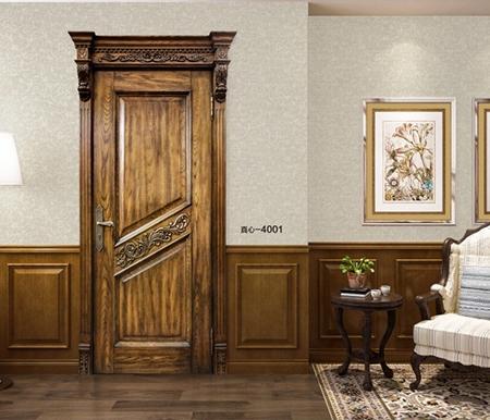 湖北原木套装门
