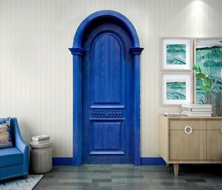介绍套装门制作的主要材料和结构